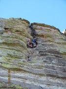 Rock Climbing Photo: BM on Space Cowboy