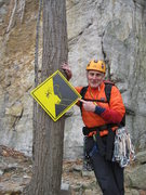 Rock Climbing Photo: Who knows the story behind this sign?