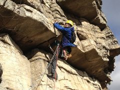 Rock Climbing Photo: Chilly day on Shockley's