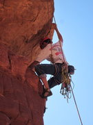 Rock Climbing Photo: cruxing