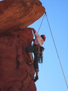 Rock Climbing Photo: almost to the action