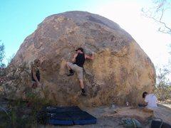 Rock Climbing Photo: The High Step start