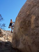 Rock Climbing Photo: At the start of this nice little traverse
