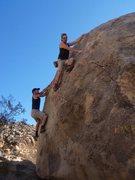 Rock Climbing Photo: Follow the leader
