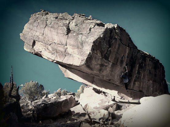Rock Climbing Photo: Blubber....
