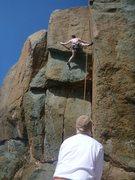 Rock Climbing Photo: Brian Werth, near the finish