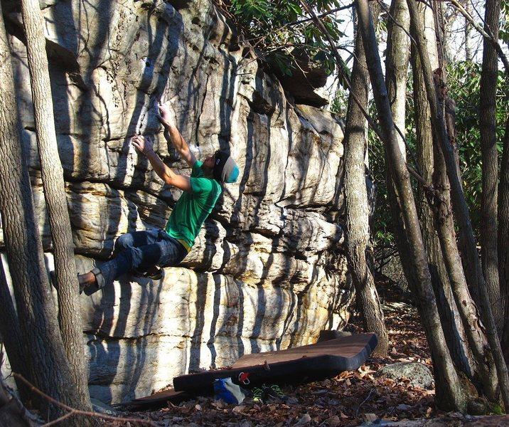 Buttercup Boulder. Triangulation v4