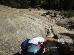 Rock Climbing Photo: Nice cracks, and rock of high quality.