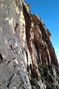 Rock Climbing Photo: My bride and myself on Johnny Vegas