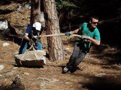 Rock Climbing Photo: Jim and I