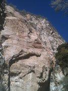 Rock Climbing Photo: Matt on the FA!