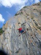 Rock Climbing Photo: David Enloe on Soy