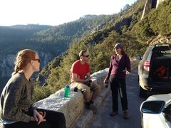 Rock Climbing Photo: Yosemite Cathy tells you the way it f**king is, Co...