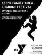 Rock Climbing Photo: Keene Family YMCA Climbing Festival Poster