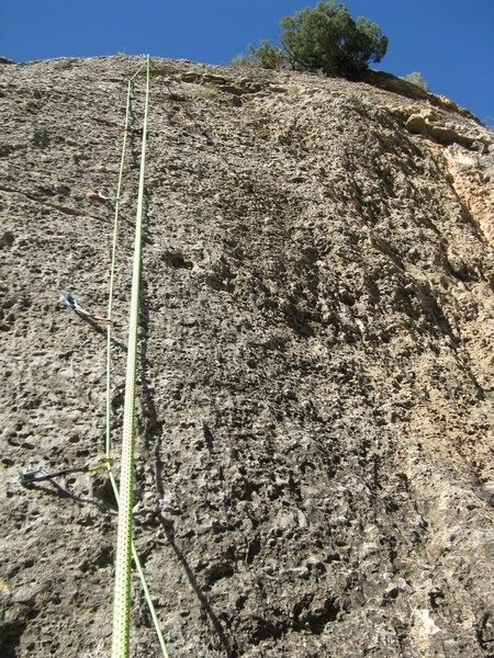 "Rock Climbing Photo: ""El Savoy"" (6b)"