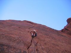 Rock Climbing Photo: What a beautiful line