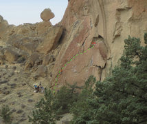 Rock Climbing Photo: Self Preservation variation to Toy Blocks.