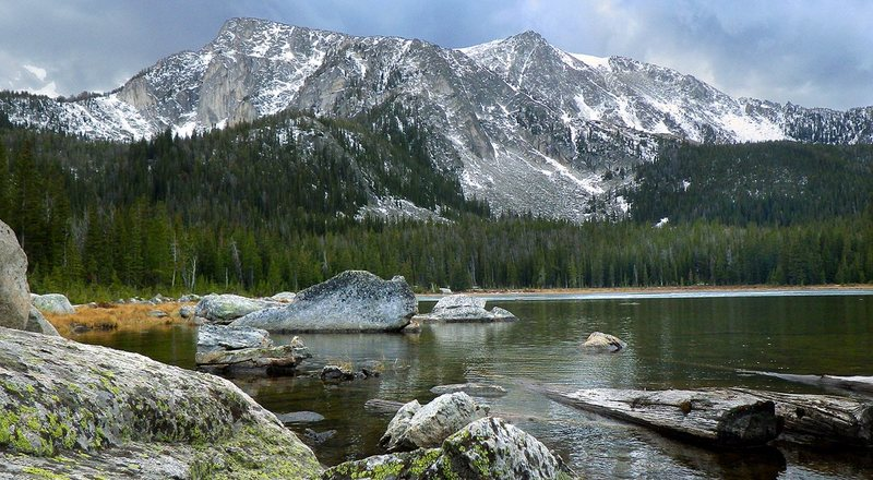 Rock Climbing Photo: Mason Lake, Tobacco Roots Mountain Range, MT