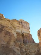 Rock Climbing Photo: This is the NW back side of Mother Tower .The crac...