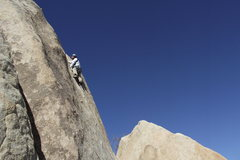 Rock Climbing Photo: The view from this straight in hand crack is great...