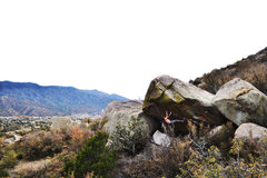 Rock Climbing Photo: Screaming Jihad