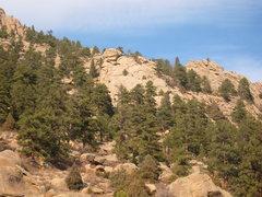 Rock Climbing Photo: Castle Slab.