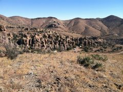 Rock Climbing Photo: Central Luna Park looking east from cell phone hil...