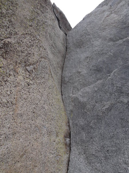 Rock Climbing Photo: Cuticle Corner 5.7
