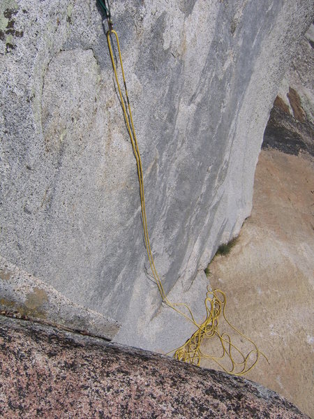 Rock Climbing Photo: Top rope for The Uncorner 5.10b
