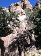 Rock Climbing Photo: Crack start of Not Rocker Science.