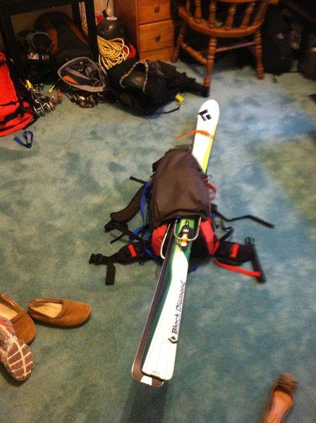 Cilogear ski carry
