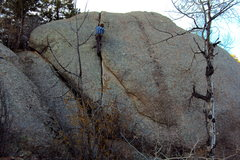 Rock Climbing Photo: Sam Murray rocking the highball.
