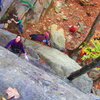 Sheryl and Haley enjoying a beautiful fall day on Super Slab 5.5