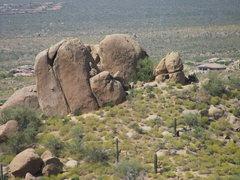 Rock Climbing Photo: The Y Crack