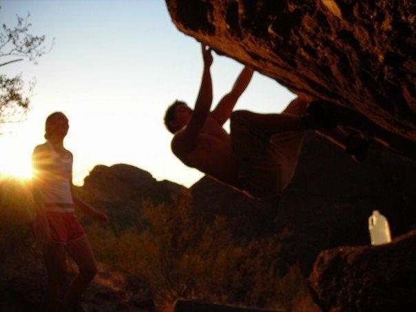 Bouldering at Camelback