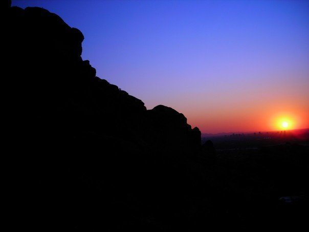 Sunset at Camelback