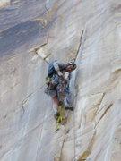 Rock Climbing Photo: Tele Photo top of groove P2