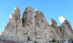 Rock Climbing Photo: High on P2