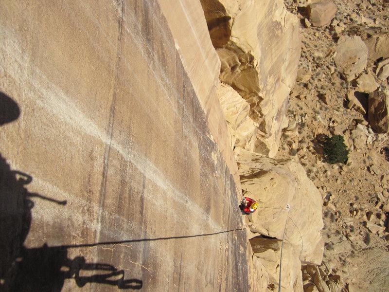Rock Climbing Photo: Son rising
