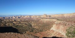 Rock Climbing Photo: View from the base of the Towers towards Reds Cany...