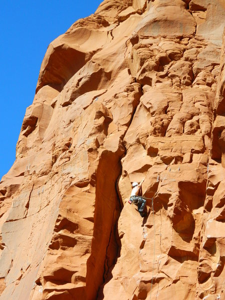 Rock Climbing Photo: Starship Trooper