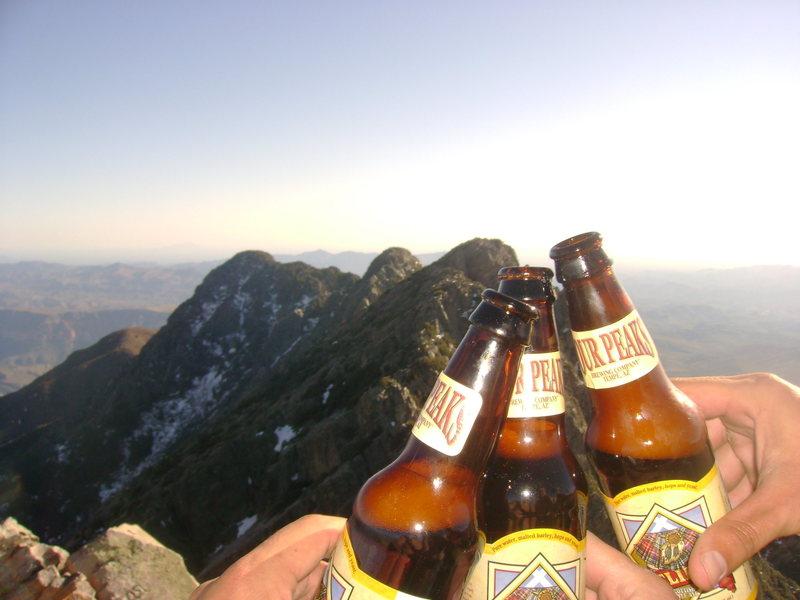 Rock Climbing Photo: Four Peaks on Four Peaks