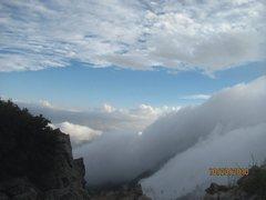 Rock Climbing Photo: Amazing day on the summit of Browns Peak