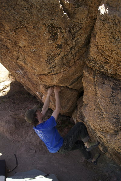 Rock Climbing Photo: Keith North on Pig [Ears].