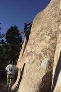 Rock Climbing Photo: Middle Peyote - a great name, a calm spot, and a c...