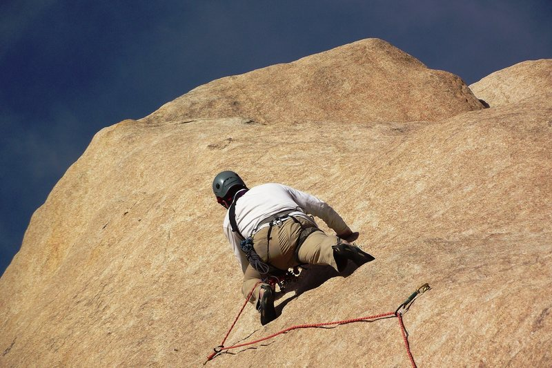 Rock Climbing Photo: Tap, Tap, Tappin'