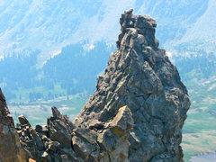 Rock Climbing Photo: Devil's Thumb