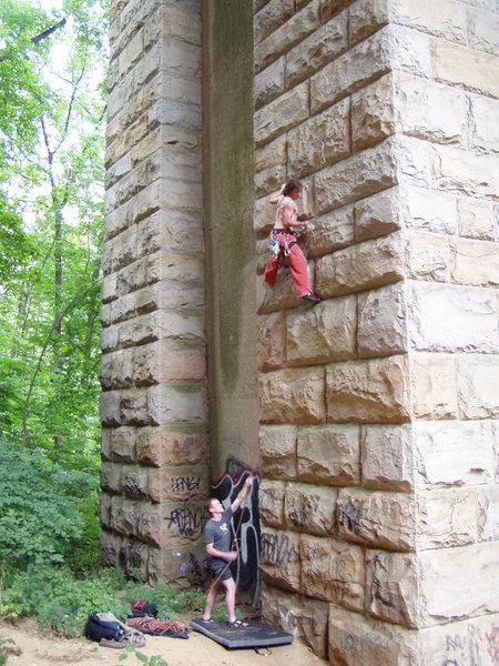 Rock Climbing Photo: The bridge.