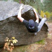Rock Climbing Photo: Peter Rakow on Scram