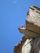 Rock Climbing Photo: Yeah!